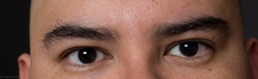 Reyj Photography - Self Portrait - 09-28-2014 - Eye Detail